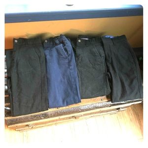 Lot of 4 boys pants